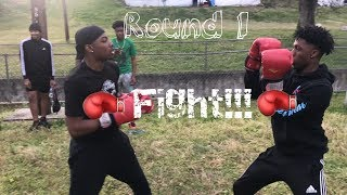 PUT THE GLOVES ON PUBLIC BOXING 😳 (BAMA EDITION)