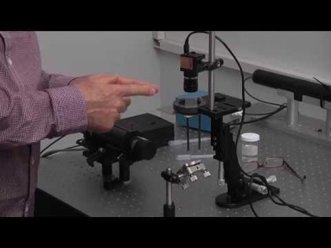 Laser speckle bio-imaging Laboratory