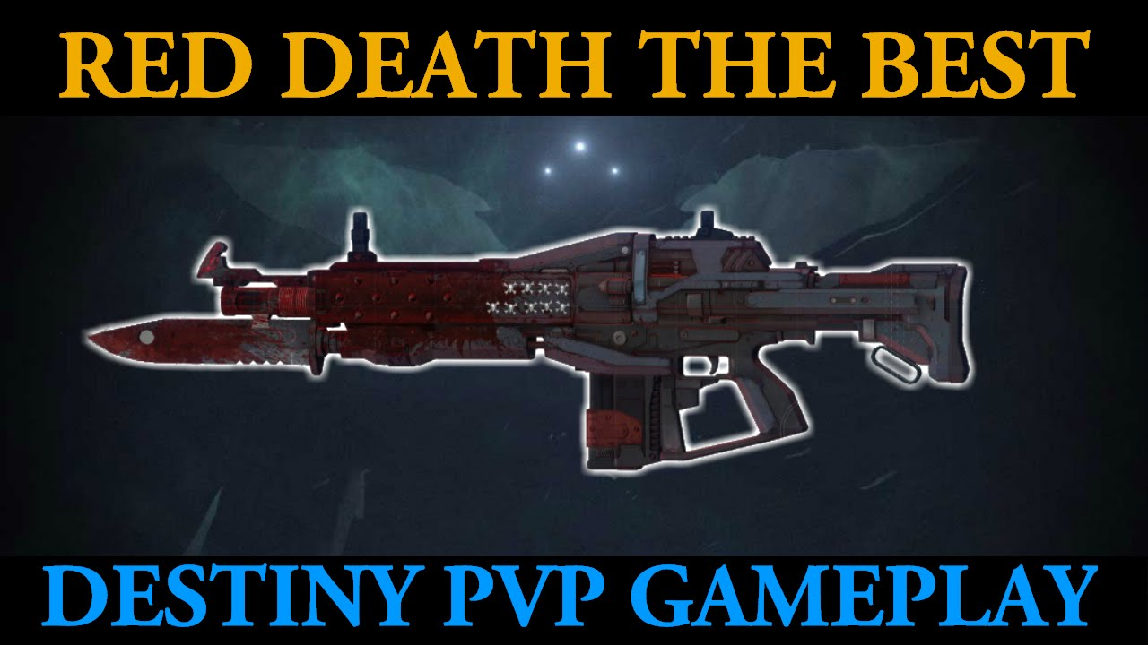Red death is simply the best 46 kill destiny pvp rift gameplay