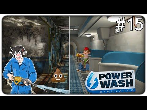 VI SVELO SEGRETI IMBARAZZANTI MENTRE RIPULISCO UN LURIDO BAGNO PUBBLICO | Powerwash Simulator ep.15