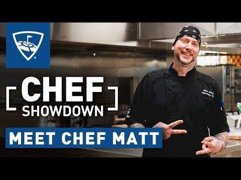 Chef Showdown | Meet Chef Matt | Topgolf