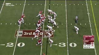 Simmie Cobbs One-Hand Catch vs. Ohio State