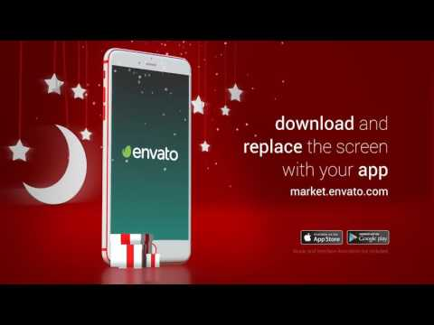After Effects Template SmartAds Smartphone Christmas Commercial - After effects commercial template