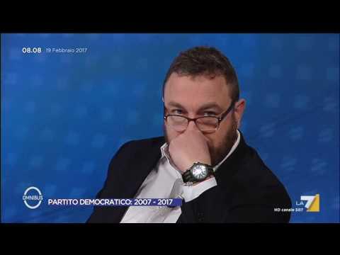 Omnibus - Partito Democratico: 2007 - 2017 (Puntata 19/02/2017)