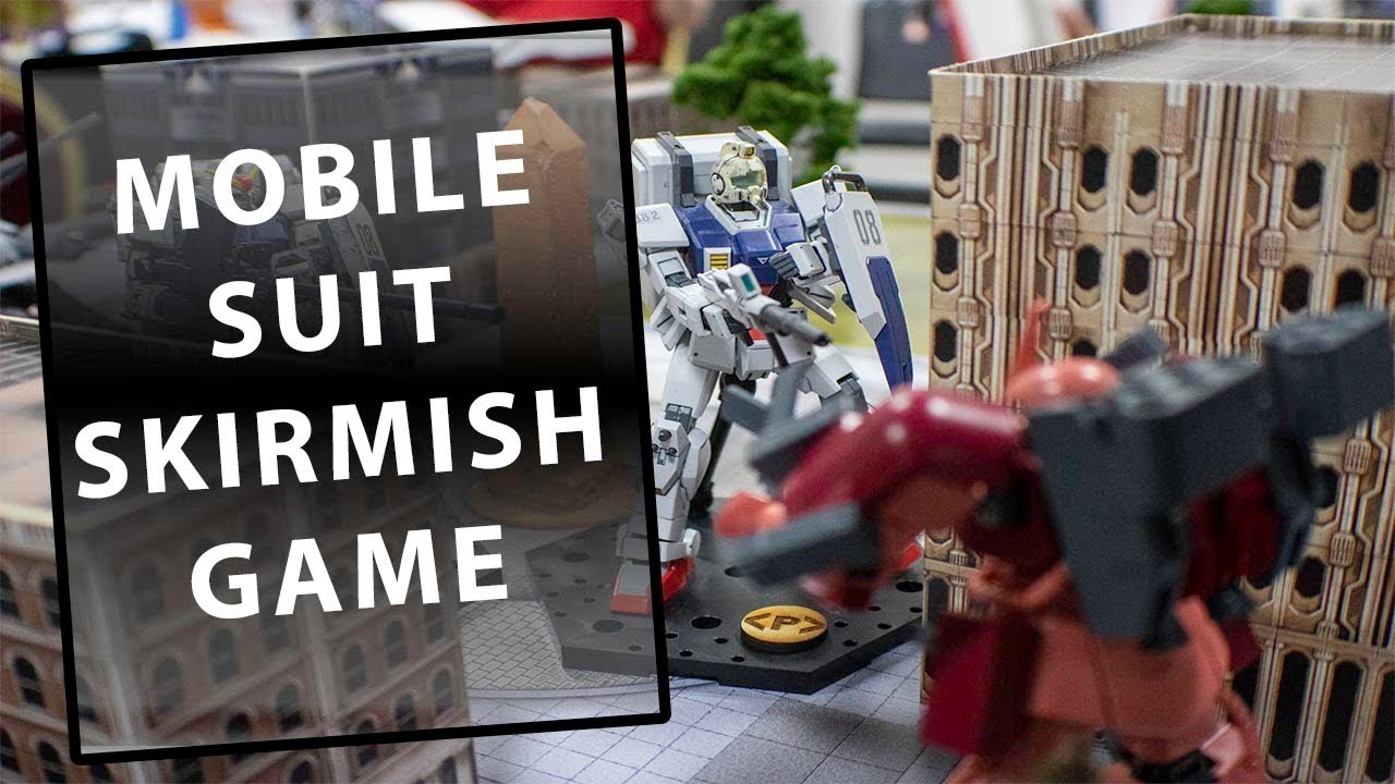 Mobile Suit Skirmish Game – Introduction to a fun use of Gunpla
