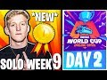 🔴LIVE: FORTNITE WORLD CUP FINALS - WEEK 9 DAY 2 (SOLO) *NEW*