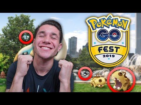 The SECRETS and LOCATIONS of Pokémon GO Fest 2019