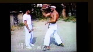 Trening karate 1987 god nozna I racna tehnika