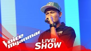 "Woofer """" - Live Show - The Voice Myanmar 2018"