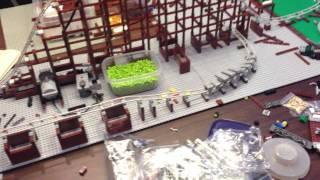 Lego Roller Coaster Factory