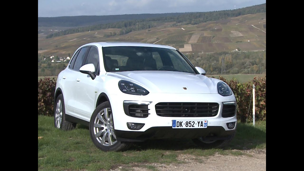 essai porsche cayenne s e hybrid 2014 youtube. Black Bedroom Furniture Sets. Home Design Ideas