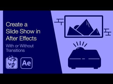 Create a Slide Show in After Effects