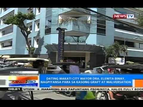NTG: Ex-Makati Mayor Dra. Elenita Binay, nagpiyansa para sa kasong graft at malversation