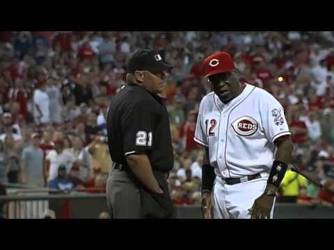 2010/06/16 Rolen, Baker ejected