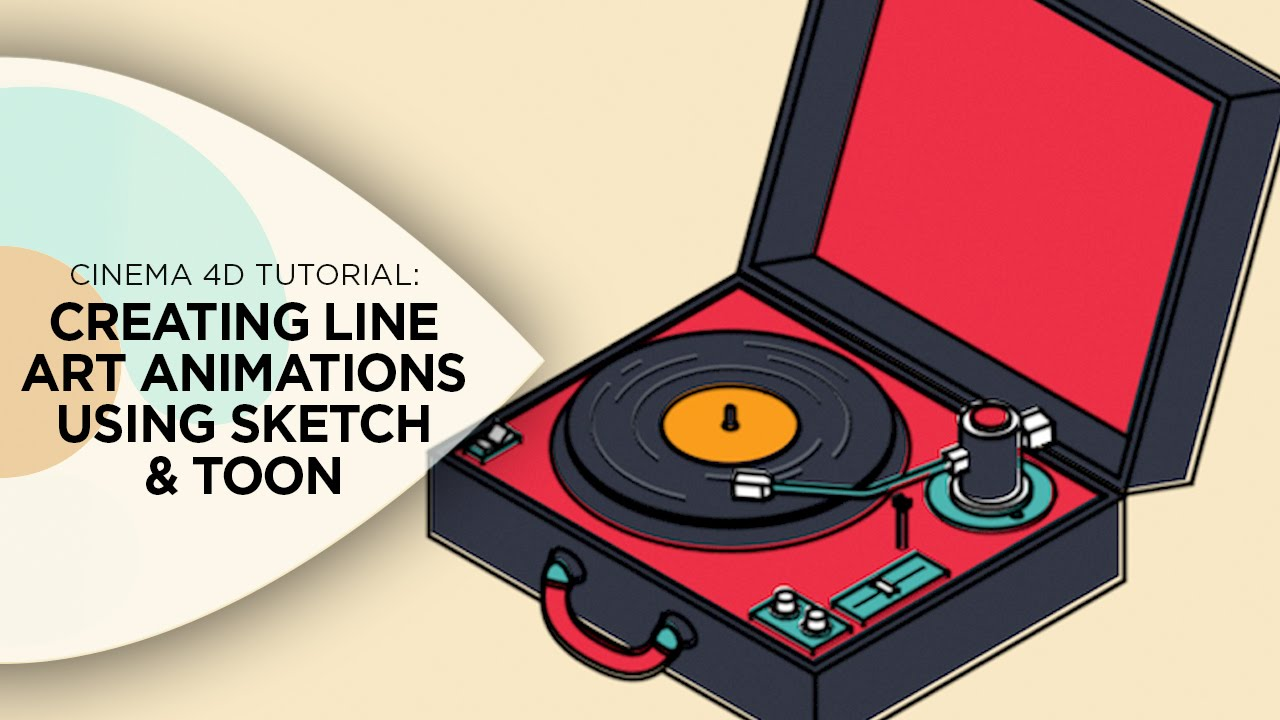 Download Cinema 4D Tutorial - How to Create Line Art Animations Using Cinema 4D's Sketch and Toon