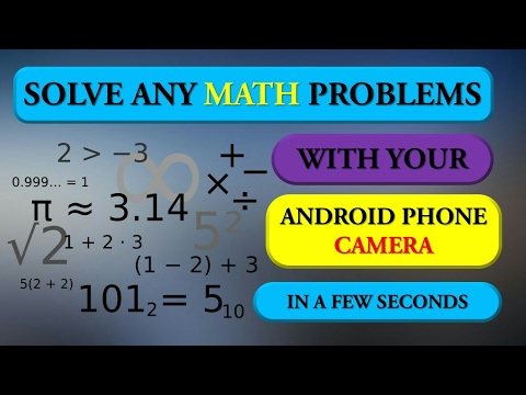 How To Solve any Math Question in just a Few Seconds With Your ...