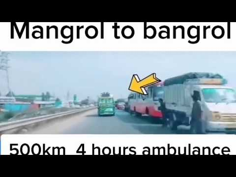 Haneef Driver(( TIK TOK VIRAL VIDEO)) // Mangalore to Bangalore 🚑Ambulance🚑// Public Hero