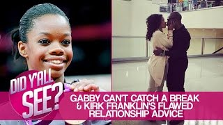 Gabby Douglas Controversy & Kirk Franklin's Relationship Advice | Did Y'all See?