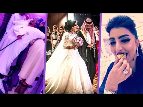 8d919a663 حفل زفاف شقيقة بثينة الرئيسي لن تصدقوا فخامته! - YouTube