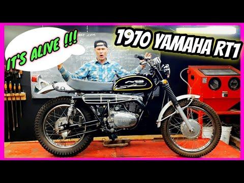 1970 YAMAHA RT1 360cc UP AND RUNNING!!