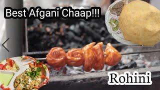 Afgani Chaap, Tandoori Momos and More   Rohini Street Food EP-2   Shiv Gungune