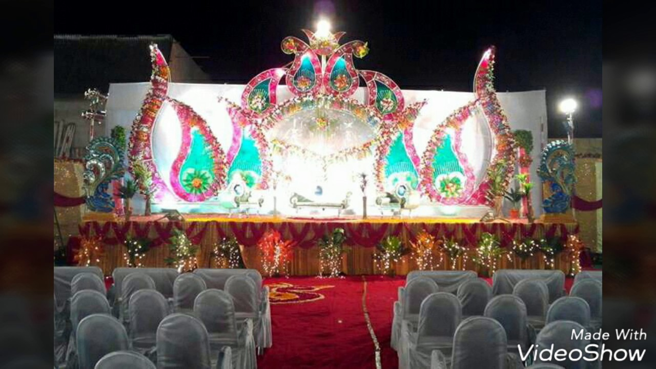 Best Wedding Stage And Flower Decorations 09891478560