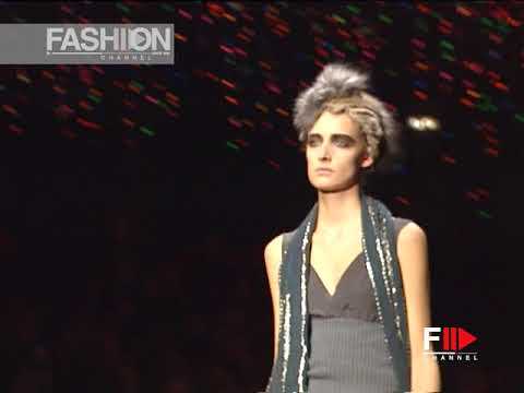 DRIES VAN NOTEN Fall 2003 2004 Paris -  Fashion Channel
