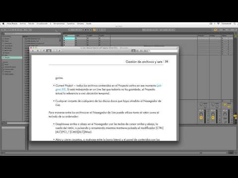Ableton Live - Tutorial 02 : Primer recorrido