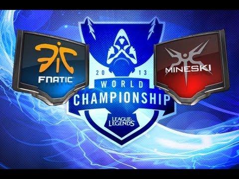 LOL - Fnatic vs Mineski - Season 3 World Championship D6G3 Highlights