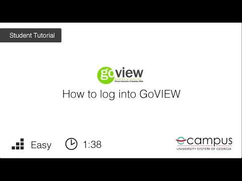 What is my GoVIEW login? - eCore