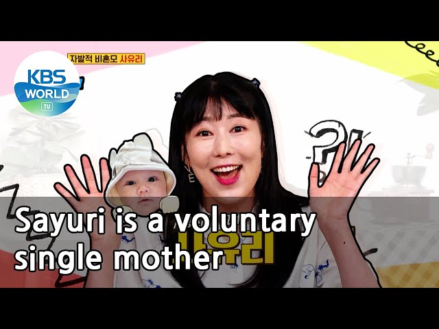 Sayuri is a voluntary single mother (Problem Child in House) | KBS WORLD TV 210408