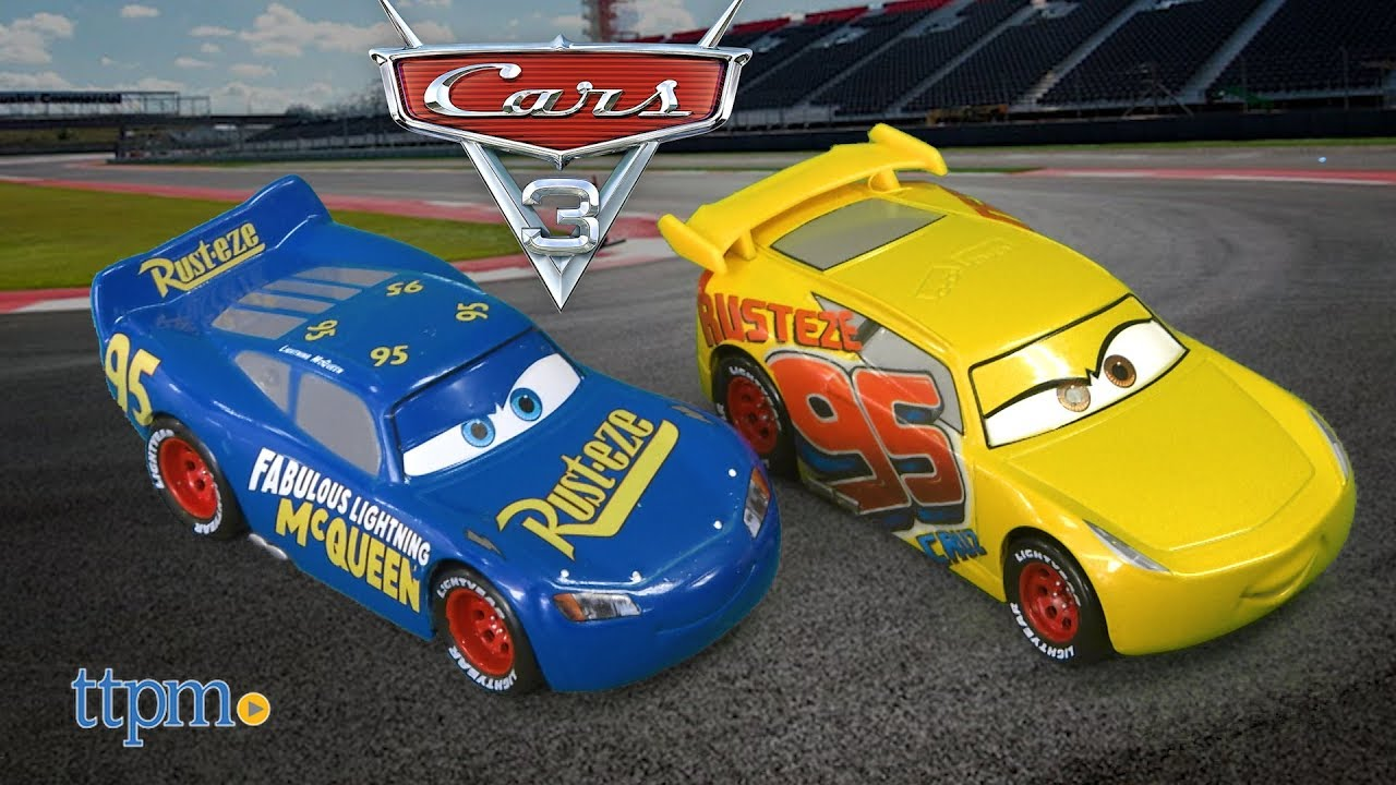 Cars 3 Fabulous Lightning Mcqueen Dinoco Racing Cruz 6 Rc Twin