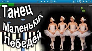 Чайковский - Танец Маленьких Лебедей Tchaikovsky [Dance Of The Little Swans] (на пианино Synthesia)