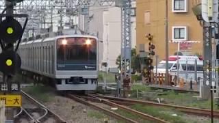 小田急3000形3254F+8000形8051F&小田急30000形EXEαはこね52号新宿行相武台駅高速通過!