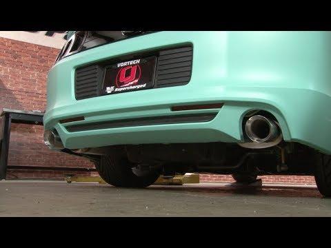 "Mustang MagnaFlow 3"" Cat-Back Exhaust Kit 2013-2014"