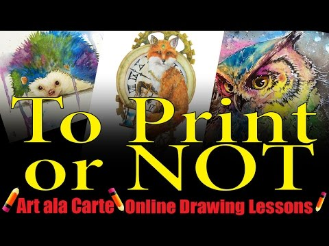 Art Tips  Producing your own Art Prints