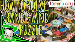 How To Solve - The Band Stand Gazebo Puzzle - Lumino City Walkthrough And Tutorial