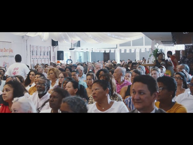 Meeting d'Huguette Bello pour les élections municipales de Saint-Paul 2020
