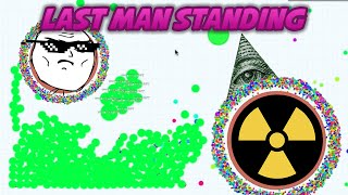 TYT Last Man Standing in Agario // Epic Agario Gameplay