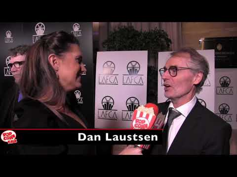 Dan Laustsen, The Shape of Water's Cinematographer, at the LA Film Critics Association Awards