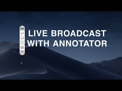 Live Broadcast With Annotator