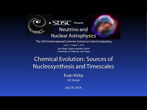 Chemical Evolution: Sources of Nucleosynthesis and Timescales - Evan Kirby