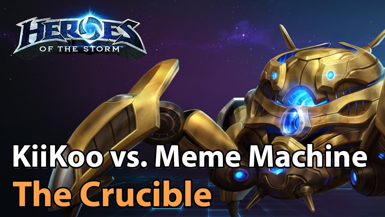 ► Division S Crucible - KiiKoo Combo vs. Meme Machine - Heroes of the Storm Esports