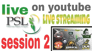 watch psl 2017 live match streaming pakistan super league season 2 urdu hindi