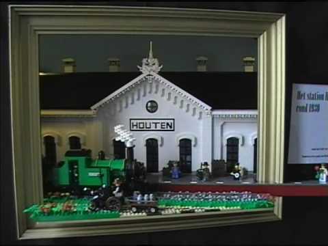 Station Op Wielen Houten.Station Op Wielen