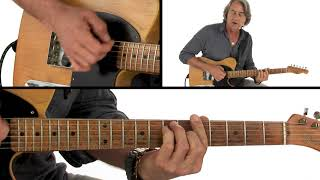 Melodic Improv Guitar Lesson - Simple Tricks for Playing Chords - Allen Hinds