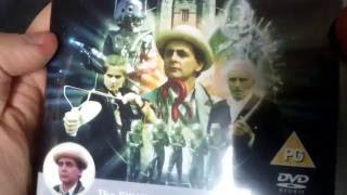 Unboxing Doctor Who: Cybermen Boxset, The E-Space Trilogy & Time-Flight/Arc of Infinity DVDs Boxsets