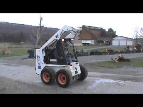 1997 Bobcat 753 Rubber Tired Skid Steer Loader Kubota Diesel For Sale
