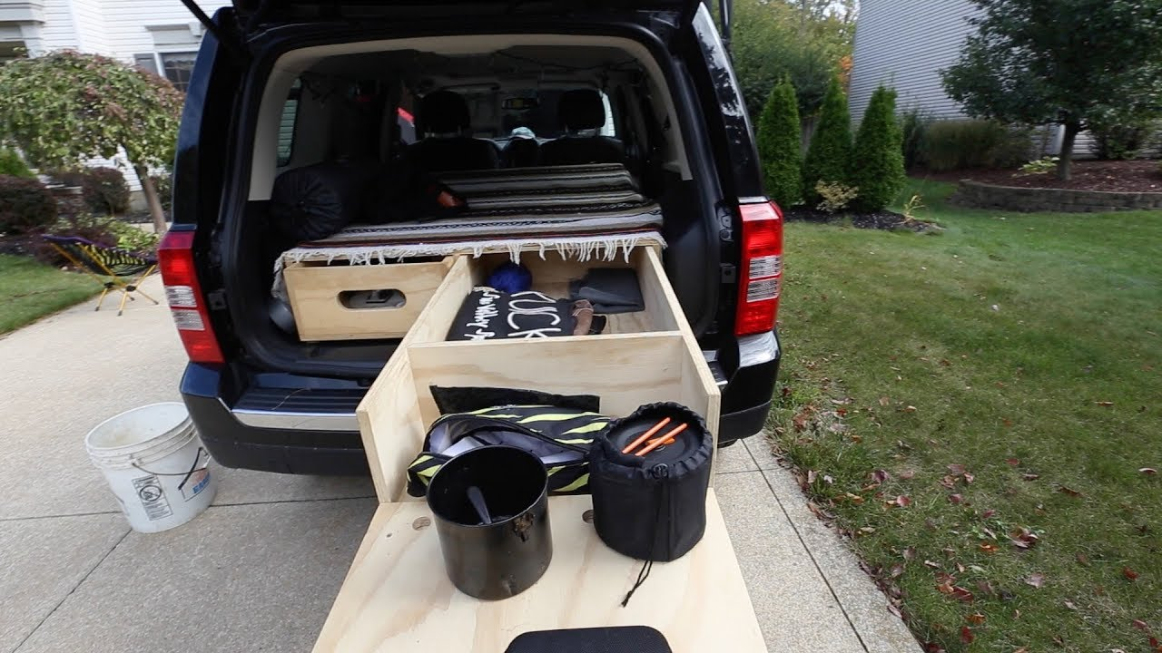 Jeep Patriot Camper >> Ultimate Car Camper Setup Jeep Patriot Youtube