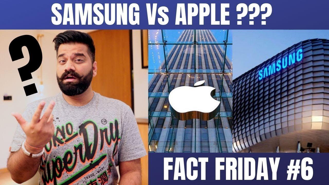 Fato sexta-feira # 6 - Samsung mais velho que a Apple ??? Fatos loucos sobre tecnologia🔥🔥🔥 + vídeo